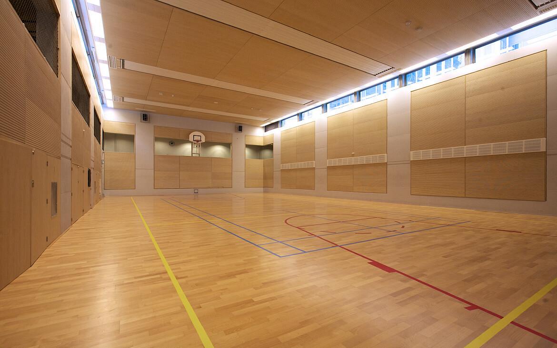 nieuwe gymzaal