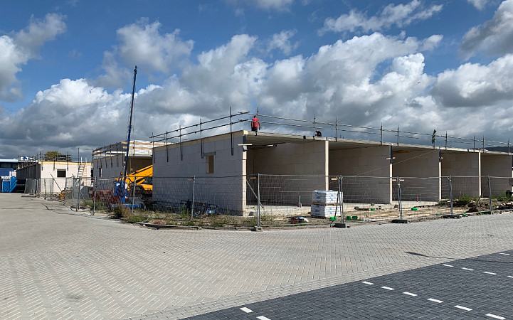 Box Katwijk vordert snel